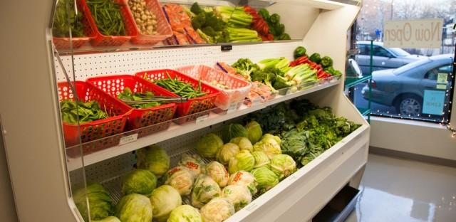 Louis Groceries in Chicago's Greater Grand Crossing neighborhood opened in Dec. of 2012.