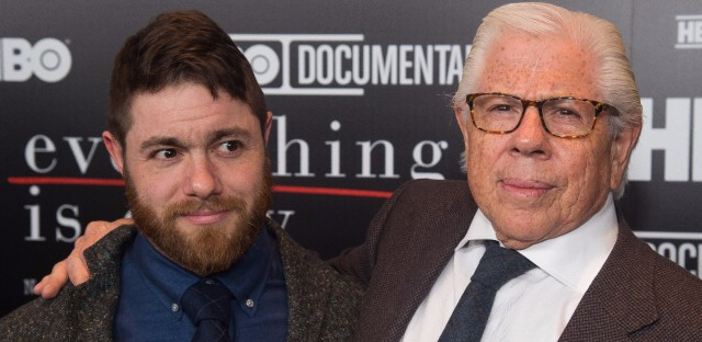 """Jacob Bernstein, left, says """"Everything Is Copy"""" wouldn't have been complete without the participation of his father, Carl Bernstein."""