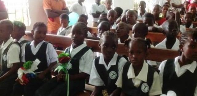 Ebola's impact on school in Liberia