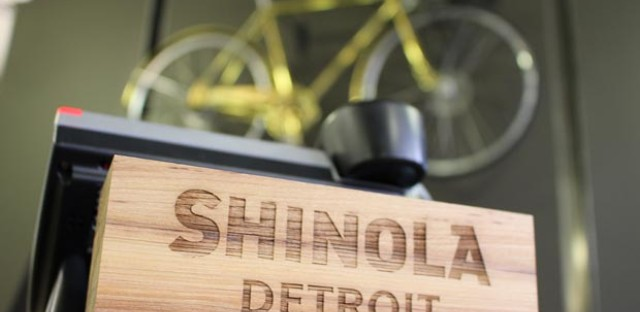 Selling bikes, watches and civic pride