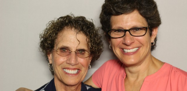 Eileen Kushner and her daughter, Laura Kushner Gammons, came to the StoryCorps booth at the Chicago Cultural Center.