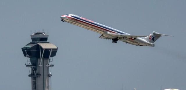A merger is pending between American Airlines and US Airways.