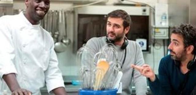 Milos Stehlik talks with Omar Sy of the film 'Samba'