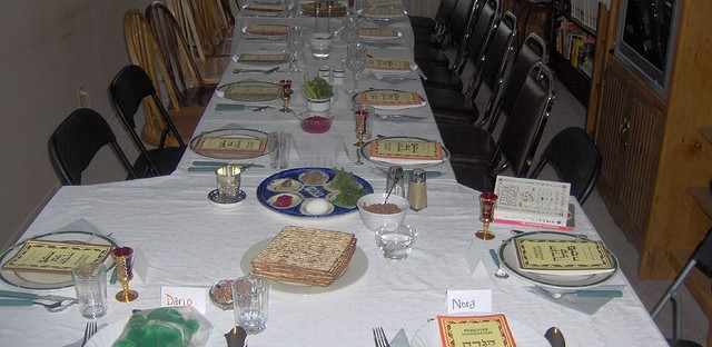 On Monday Jewish families around the world gathered for the Passover seder.