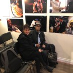Catalina Maria Johnson with David Durrah at the National Jazz Museum in Harlem