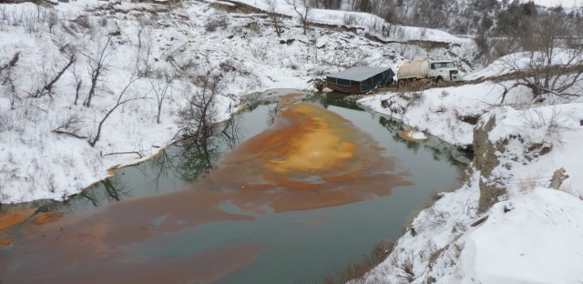 Much of the nearly 180,000 gallons of crude oil spilled went into the Ash Coulee Creek, just 150 miles from the Dakota Access pipeline protest camp.