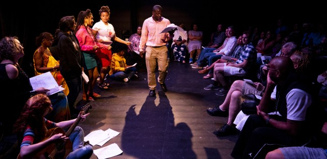 Weekend Edition Saturday : Musical 'East Of The River' Examines A Gentrifying Anacostia Image