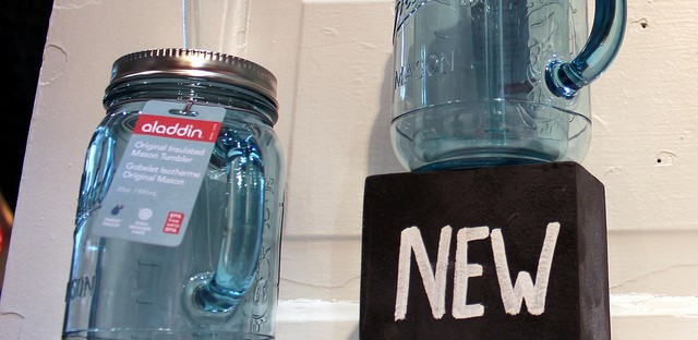New Aladdin insulated Mason tumbler at International Home + Housewares Show 2013 in Chicago