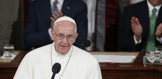 Pope Francis' speech to Congress, and His Wheels International
