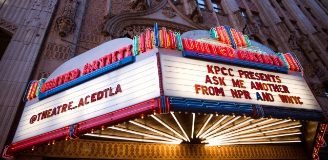 Ask Me Another : Los Angeles: Famepocalypse Part One Image
