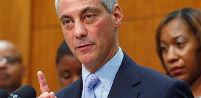 Emanuel introducing ordinance to use park land for Obama library
