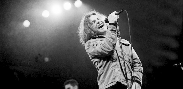 Pearl Jam plays the Chicago Stadium on March 7, 1994.