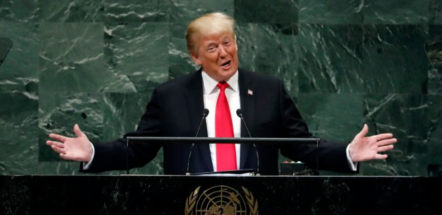 APTOPIX Trump United Nations