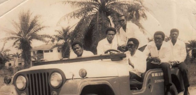 The Funkees played their first show the night the civil war effectively ended and quickly became the most beloved band in the former Biafra. They moved to London and broke up, but members went on to play with Osibisa and Eddy Grant.