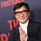 Jackie Chan attends the premiere of The Foreigner last week in Hollywood, Calif.