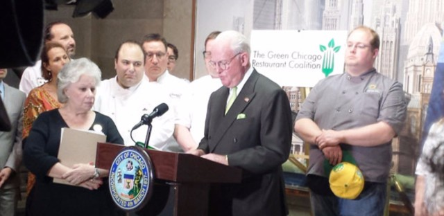 Chicago's top chefs join Ald. Ed Burke to urge limits on antibiotic use