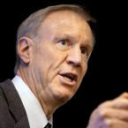 Illinois Gov. Bruce Rauner speaks at an event in Springfield on March 4, 2015.