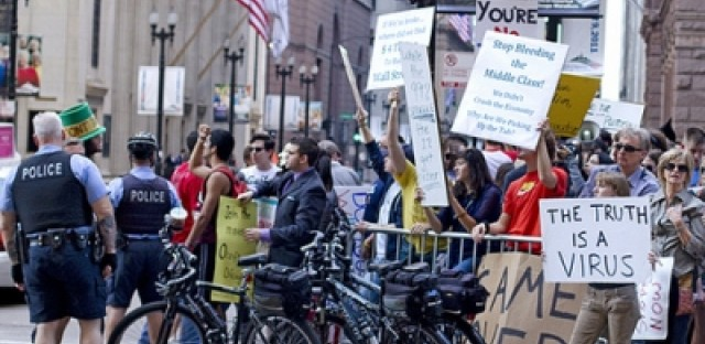 <p>Occupy Chicago plans to kick off its pre-NATO and G-8 organizing with a &#39;Chicago Spring&#39; event in April.</p>