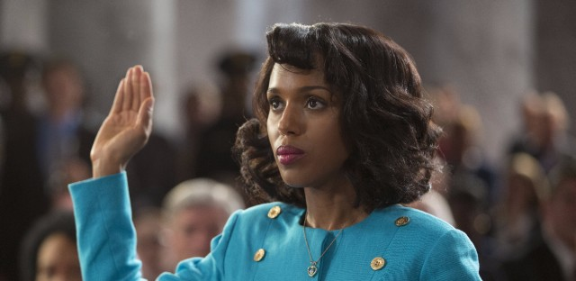Kerry Washington stars as Anita Hill in the new HBO film Confirmation. She was 14 during the 1991 hearings, and says it's the first time she remembers her parents having different points of view.