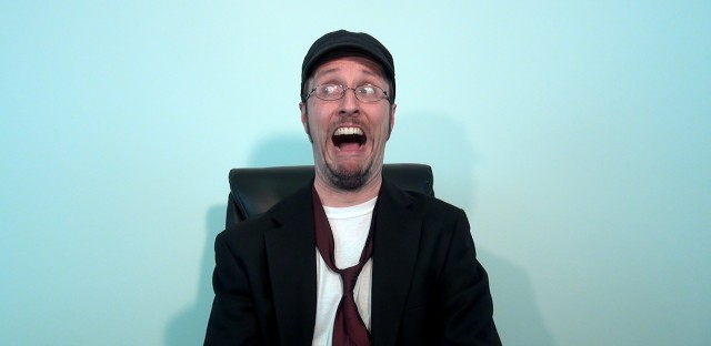 Chicago resident Doug Walker, playing the Nostalgia Critic.