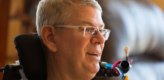 On Being : Bruce Kramer — Forgiving the Body: Life with ALS Image