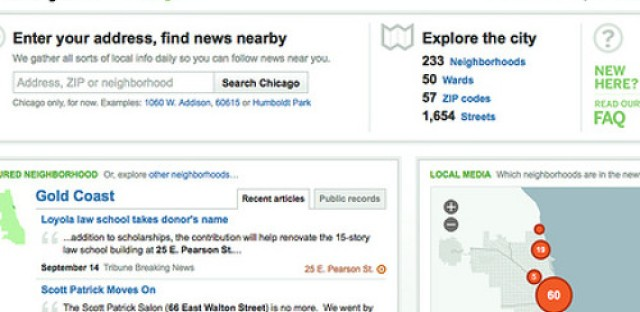 Hyper-local Website Everyblock re-launches
