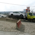Tow Truck West Side Impound Lot