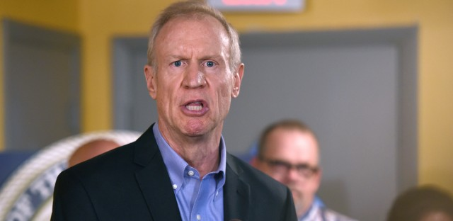 Illinois Gov. Bruce Rauner speaks during a news conference on July 5, 2017, in Chicago. (AP Photo/G-Jun Yam)