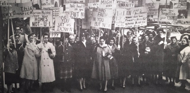 A cadre of homemakers in Little Italy spent years protesting Mayor Richard J. Daley's decision to place the University of Illinois at Chicago campus in their neighborhood.