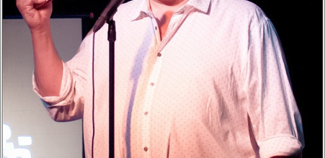 Jeff Garlin at TBS' Just For Laughs 2012 kickoff at Chicago Underground Comedy.