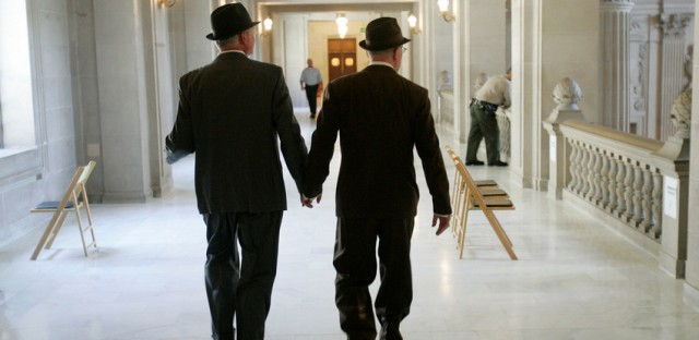 Gay rights arrive at the Supreme Court