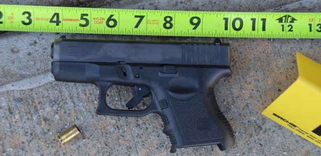 This gun was involved in the accidental shooting of a 3-year-old in Jefferson, Ga. Shootings kill or injure at least 19 U.S. children each day, with boys, teenagers and blacks most at risk, according to a government study that paints a bleak portrait of persistent violence.