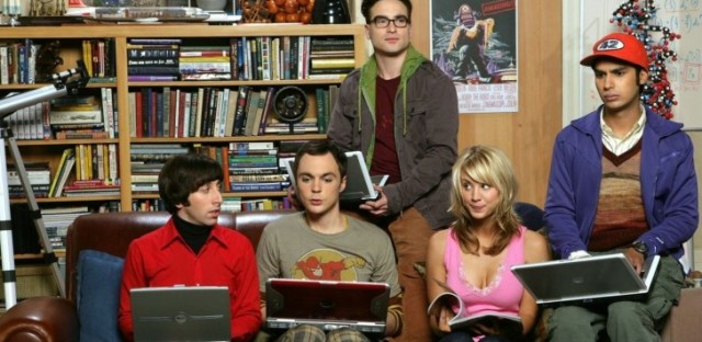 "Publicity photo for ""The Big Bang Theory."""