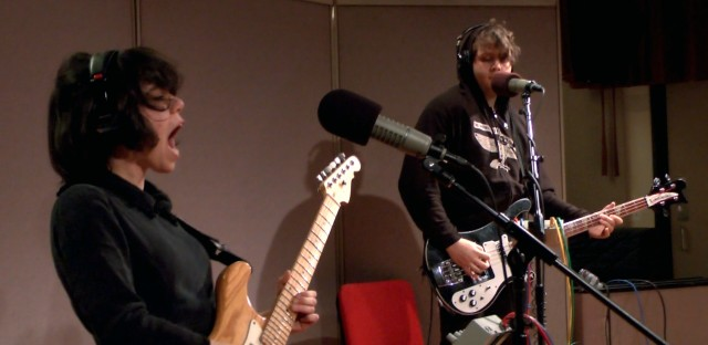 Screaming Females perform at WBEZ studios for 'Sound Opinions'