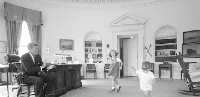 Passing the torch: 50 years after President Kennedy's inauguration