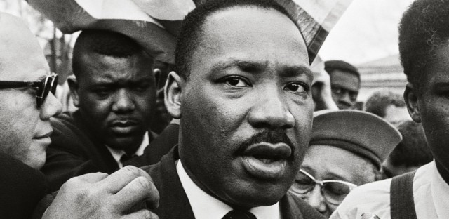 Dr. King marches from Selma to Montgomery