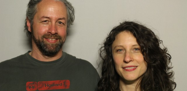 Marty Winefiled came to the StoryCorps booth in Chicago with his girlfriend, Sara Frank.
