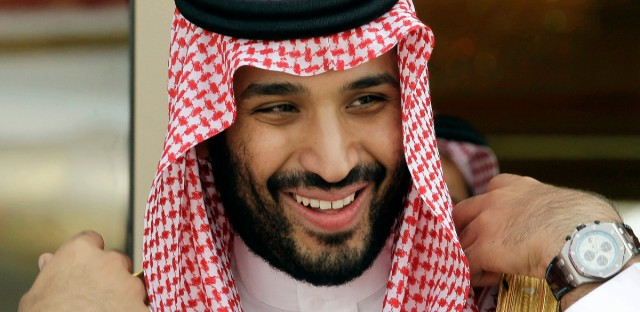 Prince Mohammed bin Salman, seen here in May 2012, is now next in line to take over the oil-rich kingdom of Saudi Arabia after a royal decree from Saudi King Salman on Wednesday. (AP Photo/Hassan Ammar, File)
