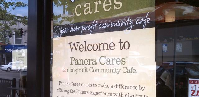 Panera Cafe and Chicago's philanthropic spirit?