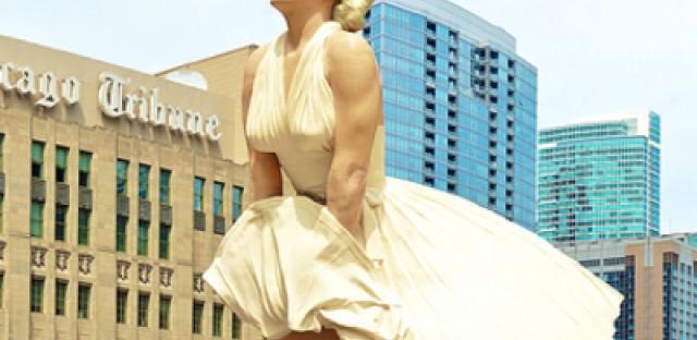 Chicagoans reconsider public art after peeking up Marilyn Monroe's dress