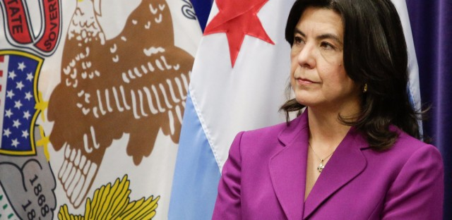 Outgoing Cook County State's Attorney Anita Alvarez, seen here in March 2016. In a statement released this week, Alvarez extended her sympathy to Theresa Matthews, the mother of Cateresa Matthews, a 14-year-old suburban Chicago girl who was killed in 1991. Alvarez also said she has implemented reforms to ensure that no person is wrongfully convicted.