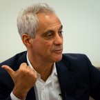 Myaor Rahm Emanuel speaks with reporter Becky Vevea about his top priorities before leaving office.