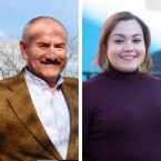 Ald. Ariel Reboyras (left) and t Jessica Washington Gutierrez (right) appear poised to face off in a runoff election to represent the 30th Ward in the City Council.