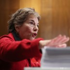 Rep. Jan Schakowsky, D-Ill., at a news conference on Capitol Hill in Washington, Wednesday, Dec. 7, 2016.