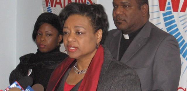Chicago mayoral candidate Patricia Van Pelt-Watkins