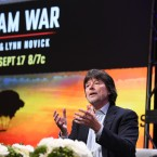 "Ken Burns participates in the ""The Vietnam War"" panel during the PBS portion of the 2017 Summer TCA's at the Beverly Hilton Hotel on Sunday, July 30, 2017, in Beverly Hills, Calif."