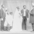Wedding Ceremony, 1908. Library of Congress.
