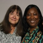 Terri Treiman and Tiffany Baker at StoryCorps in Chicago.