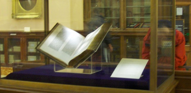 World History Minute: The first massively printed book.