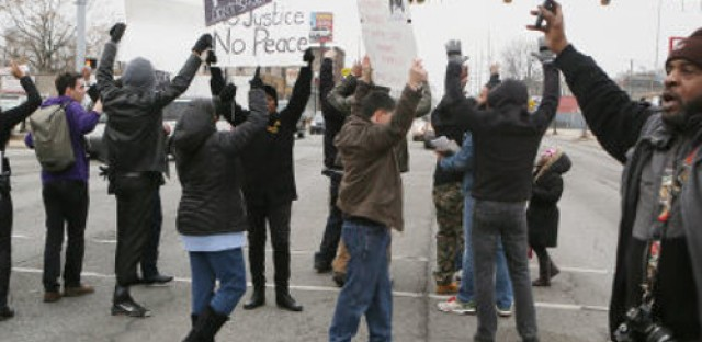 Hammond residents protest police treatment